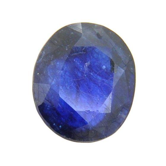Asscher Red Sapphire